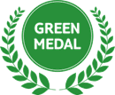 Green Medal award logo | Karisma Hotels & Resorts®