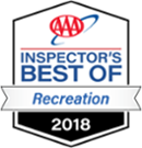 AAA Inspector's best of Recreation 2018 logo | Karisma Hotels & Resorts®